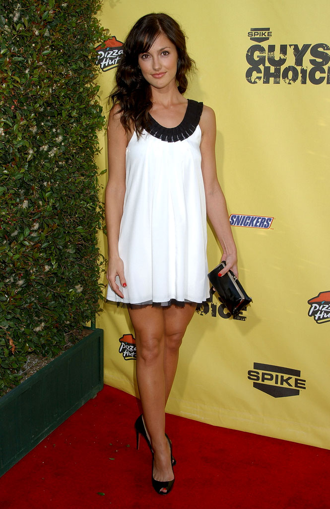 "Minka Kelly at Spike TV's ""Guys Choice"" Awards."