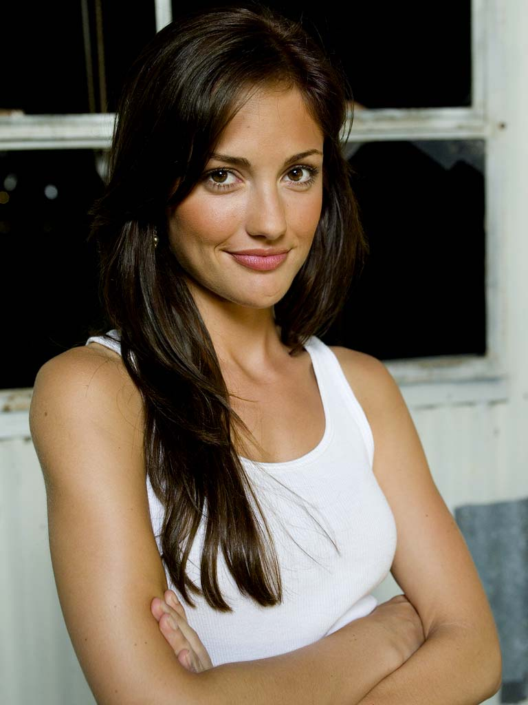 Minka Kelly stars as Lyla Garrity on Friday Night Lights.