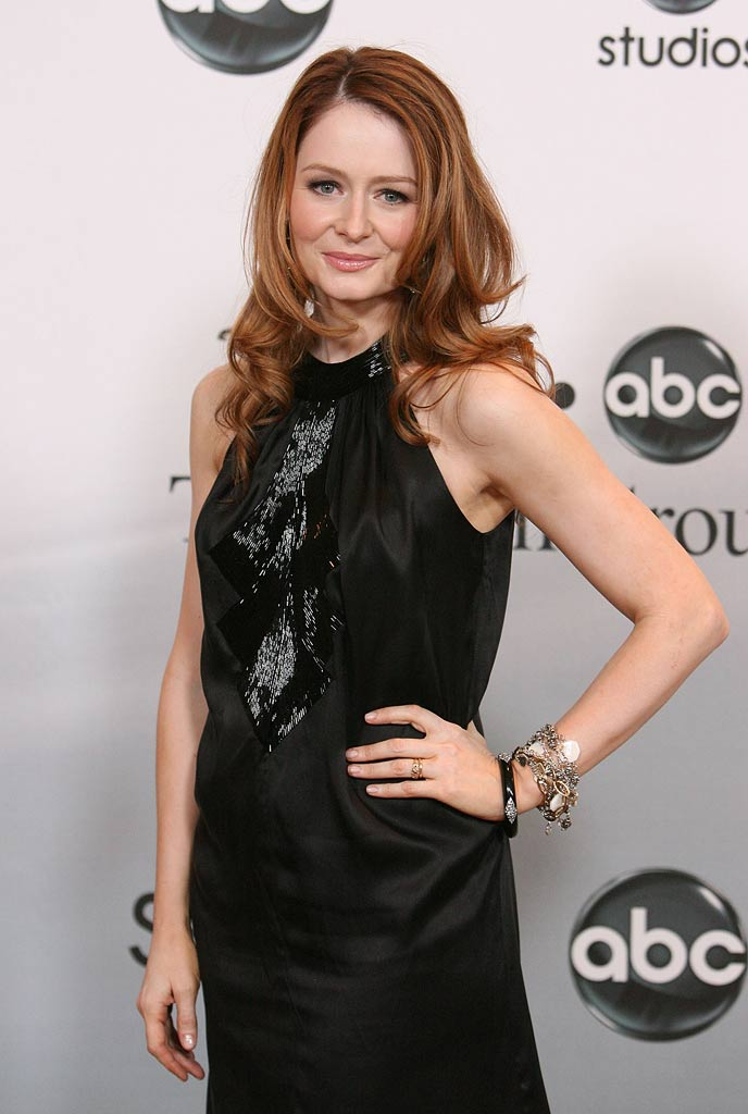 Miranda Otto arrives at the 2007 ABC Summer Press Tour Party.
