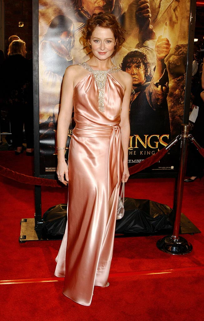 "Miranda Otto at ""The Lord Of The Rings:The Return Of The King"" Los Angeles Premiere."