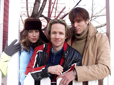 Miriam Shor, John Cameron Mitchell and Stephen Trask of Hedwig and the Angry Inch Sundance Film Festival 1/22/2001