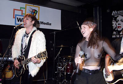 Stephen Trask and Miriam Shor Hedwig and the Angry Inch Party Sundance Film Festival 1/25/2001