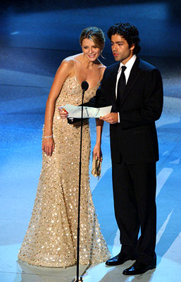 Mischa Barton and Adrian Grenier Emmy Awards - 9/18/2005