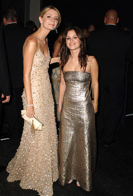Mischa Barton and Rachel Bilson Governor's Ball Emmy Awards - 9/18/2005