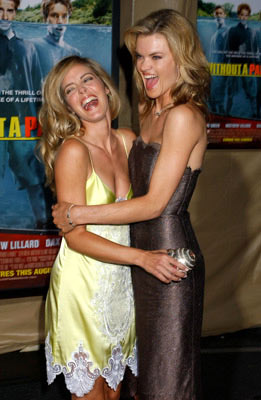 Premiere: Christina Moore and Missi Pyle at the Los Angeles premiere Paramount Pictures' Without a Paddle - 8/16/2004