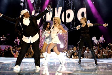 Missy Elliott, Christina Aguilera, Britney Spears, Madonna MTV Video Music Awards - 8/28/2003