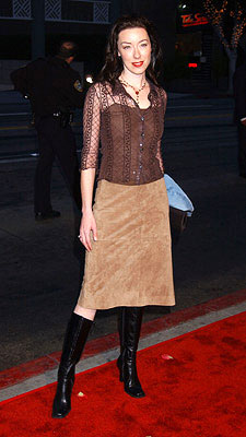 Premiere: Molly Parker at the LA premiere of Lions Gate's Frailty - 4/9/2002