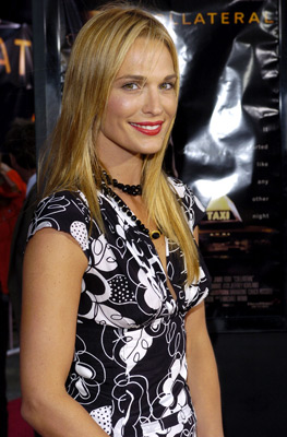 Premiere: Molly Sims at the LA premiere of Dreamworks SKG's Collateral - 2004