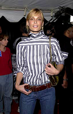 Premiere: Molly Sims at the New York premiere of Warner Brothers' Swordfish - 5/14/2001