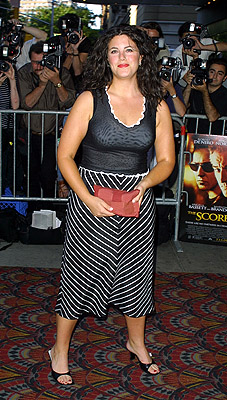 Premiere: Monica Lewinsky at the New York premiere of Paramount's The Score - 7/11/2001