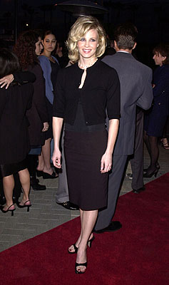 Premiere: Monica Potter at the premiere of Paramount's Along Came A Spider - 4/2/2001