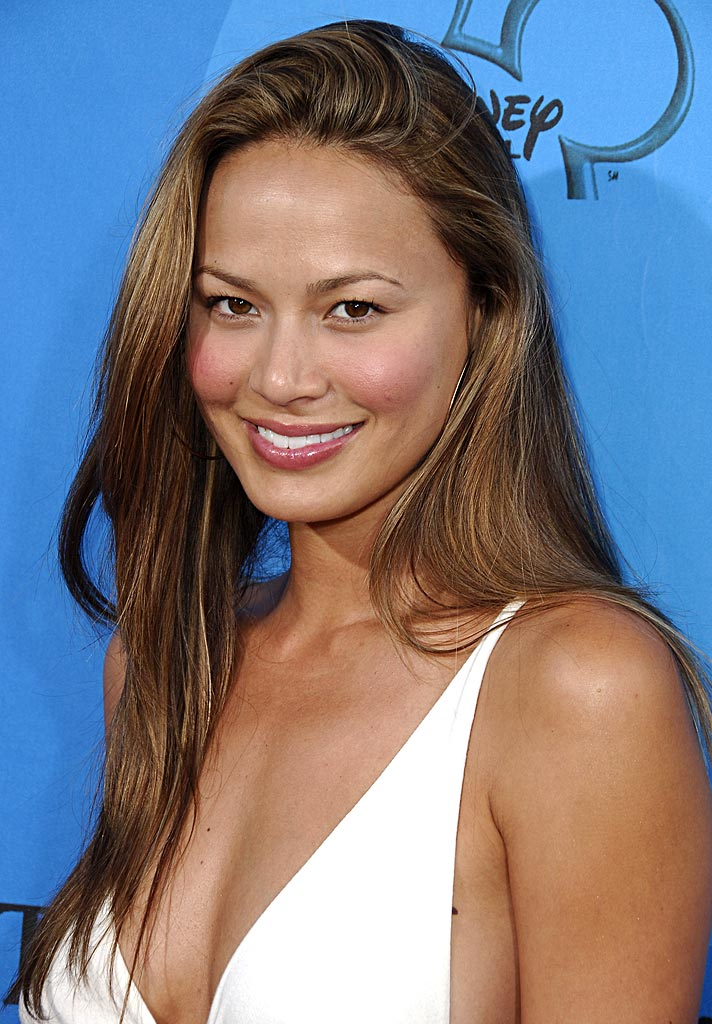 Moon Bloodgood of Journeyman at the ABC All Star Party 2006.