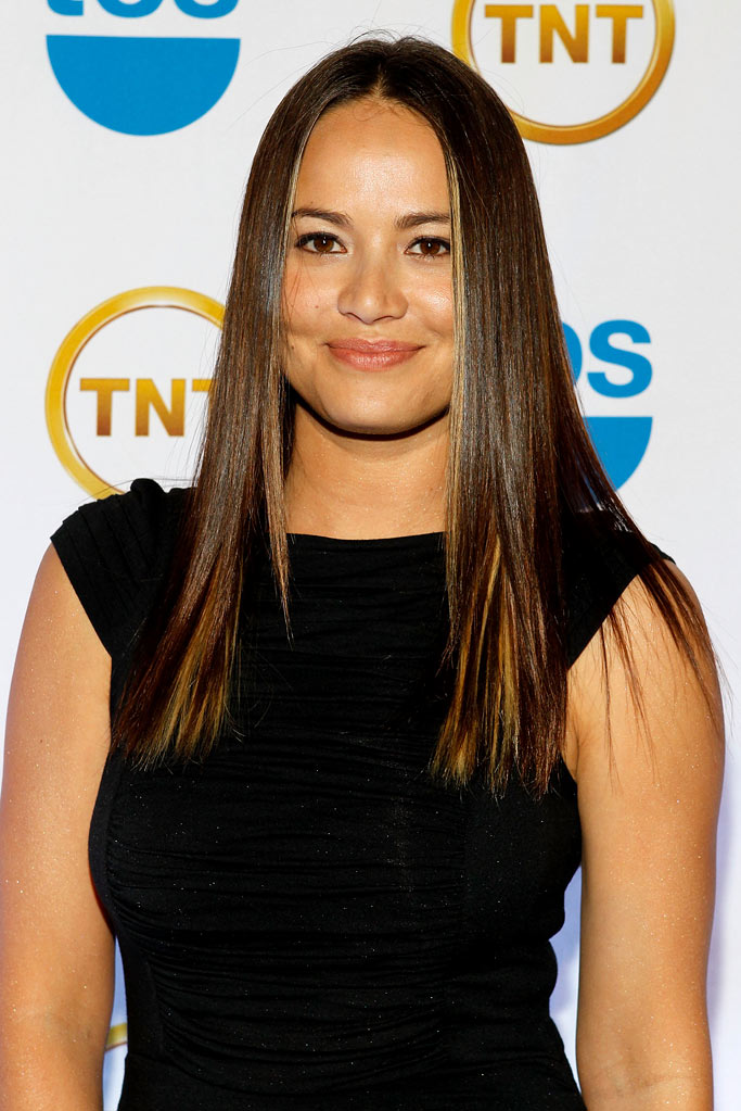 Moon Bloodgood attends the TEN Upfront presentation at Hammerstein Ballroom on May 19, 2010 in New York City.