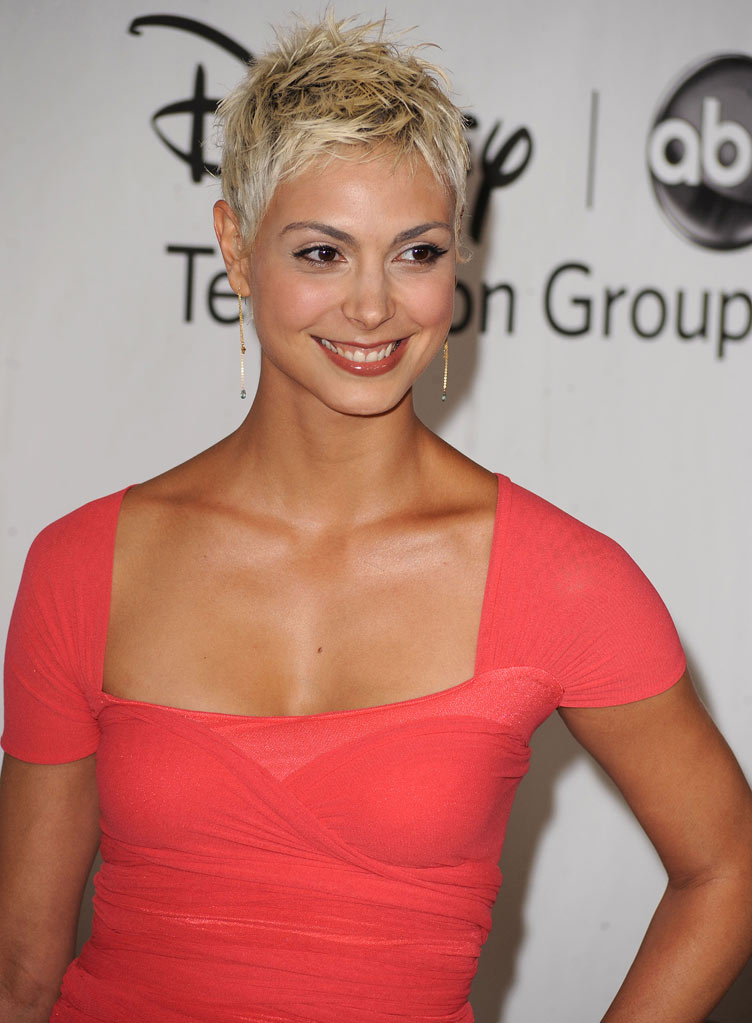 """V's"" Morena Baccarin arrives at the Disney/ABC Television 2010 TCA Summer Press Tour on August 1, 2010 in Beverly Hills, California."
