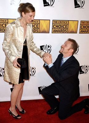 Morgan Spurlock and Alexandra Jamieson 10th Annual Critics Choice Awards Los Angeles, CA - 1/10/05