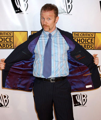 Morgan Spurlock 10th Annual Critics Choice Awards Los Angeles, CA - 1/10/05