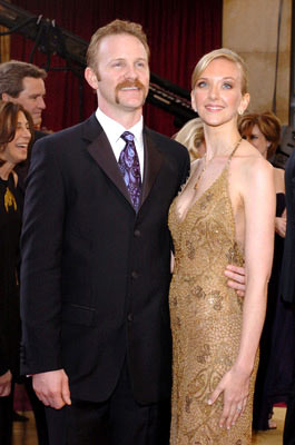 Morgan Spurlock and Alexandra Jamieson 77th Annual Academy Awards - Arrivals Hollywood, CA - 2/27/05
