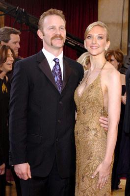 Morgan Spurlock and Alexandra Jamieson77th Annual Academy Awards