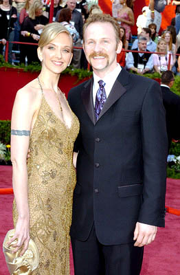 Alexandra Jamieson and Morgan Spurlock Best Documentary Nominee - Super Size Me 77th Annual Academy Awards - Arrivals Hollywood, CA - 2/27/05