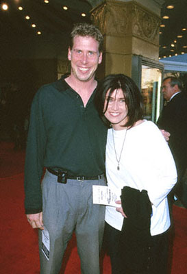 Premiere: Philip McKeon and Nancy McKeon at the Mann Village Theare premiere of Paramount's Rules Of Engagement in Westwood, CA - 4/2/2000