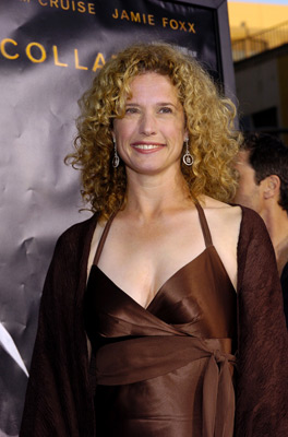 Premiere: Nancy Travis at the LA premiere of Dreamworks SKG's Collateral - 2004