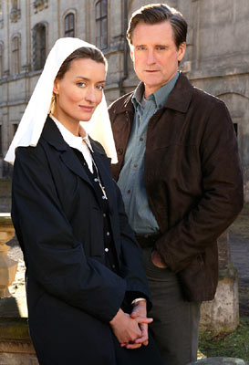 Natascha McElhone and Bill Pullman NBC's Revelations