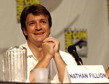 Nathan Fillion of Serenity San Diego Comic-Con, 7/16/2005