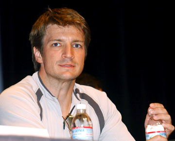 Nathan Fillion Serenity panel 2004 San Diego Comic-Con International - 7/25/2004
