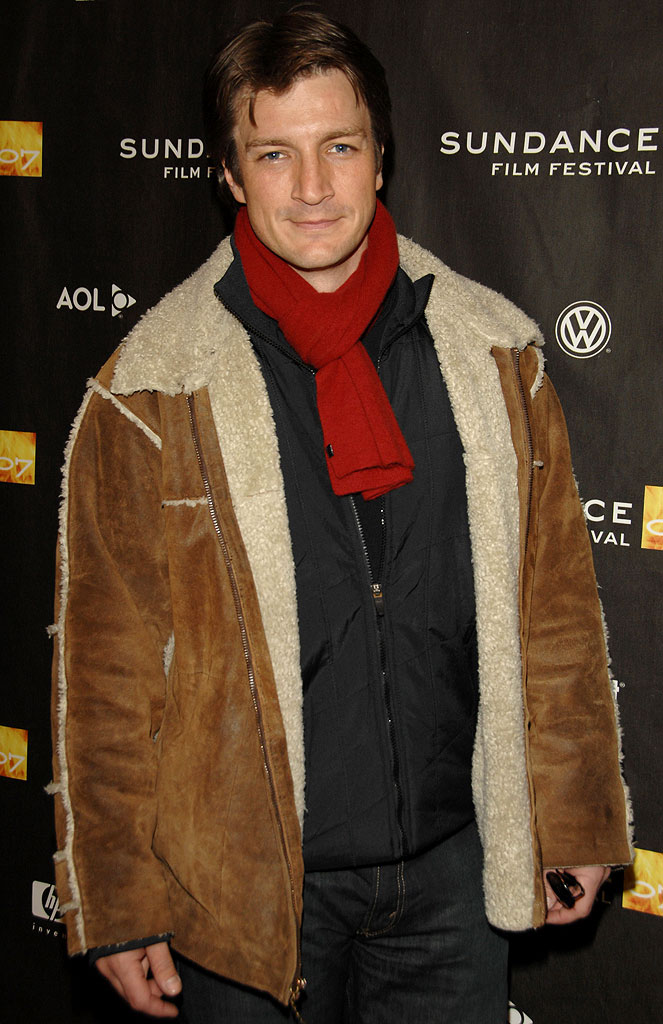 "Nathan Fillion at the 2007 Sundance Film Festival - ""The Waitress"" Screening and Q&A."