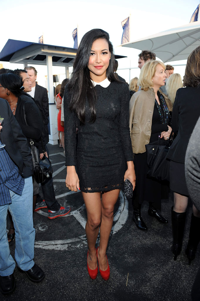 "Naya Rivera of ""Glee"" attends the 2011 FOX Summer TCA Party at Gladstone's in Malibu, CA on August 5, 2011."
