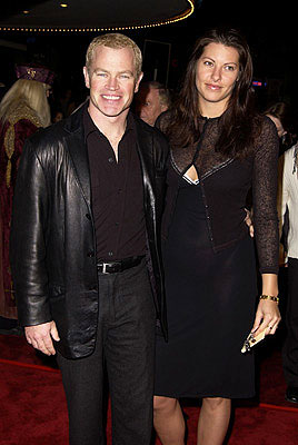 Premiere: Neal McDonough and gal at the Westwood premiere of Warner Brothers' Harry Potter and The Sorcerer's Stone - 11/14/2001