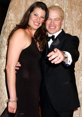 Neal McDonough and wife Ruve Robertson HBO Post Award Reception Griff's Restaurant - Beverly Hills, CA - 1/16/05