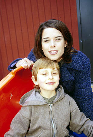 Neve Campbell, star of The Craft and all those Scream movies, with a kid named David Dorfman Sundance Film Festival January 22, 2000 Randall Michelson, Wireimage.com - Photo