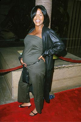 Premiere: Nia Long is very much preggers at the Egyptian Theatre premiere of Sony Pictures Classics' The Broken Hearts Club - 7/17/2000