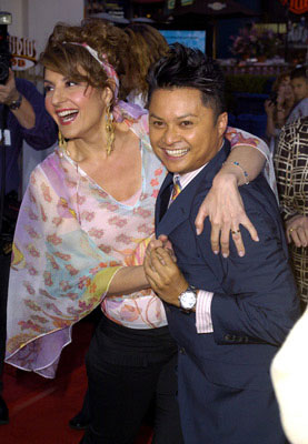 Premiere: Nia Vardalos and Alec Mapa at the L.A. premiere of Universal Pictures' Connie and Carla - 4/13/2004