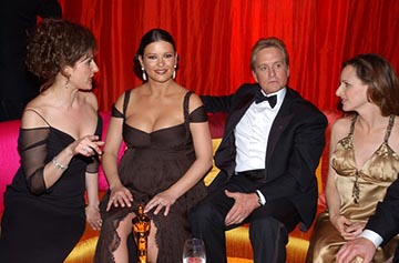 Nia Vardalos, Catherine Zeta-Jones, Michael Douglas, Marlee Matlin Elton John AIDS Foundation's Annual Viewing Party 75th Academy Awards - 3/23/2003
