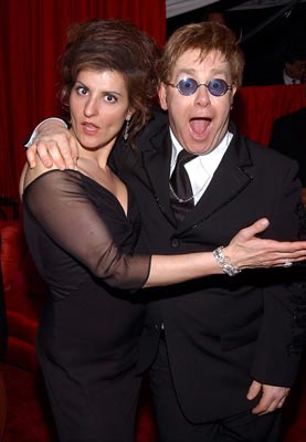 Nia Vardalos, Elton John Elton John AIDS Foundation's Annual Viewing Party 75th Academy Awards - 3/23/2003