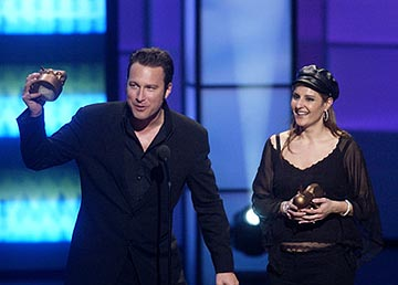 "John Corbett, Nia Vardalos of My Big Fat Greek Wedding ""Your Attention Please..."" Award Winners VH-1 Big in 2002 Awards - 12/4/2002"