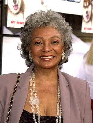 Premiere: Nichelle Nichols at the Hollywood premiere of Snow Dogs - 1/13/2002