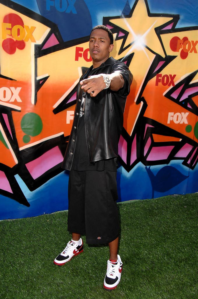Nick Cannon arrives to the 2007 Teen Choice Awards.