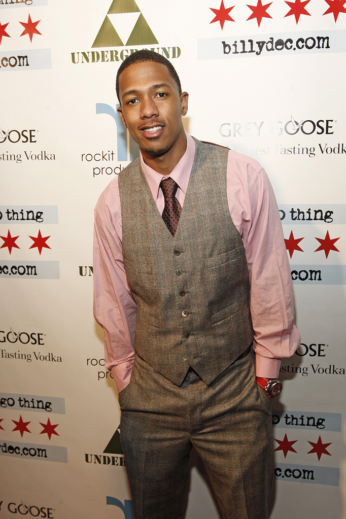 "Nick Cannon at ""A Chicago ThingÖBillydec.com"" Blog Launch Party presented by Grey Goose Vodka at The Underground on March 5, 2009"