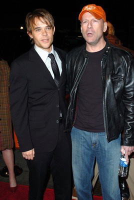 Premiere: Bruce Willis and Nick Stahl at the Westwood premiere of Dimension Films' Sin City - 3/28/2005