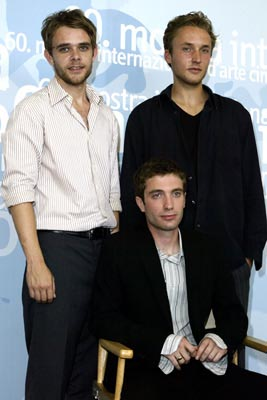 "Nick Stahl, Jacob Tierney and Joshua Close ""Twist"" Venice Film Festival - 8/29/2003"