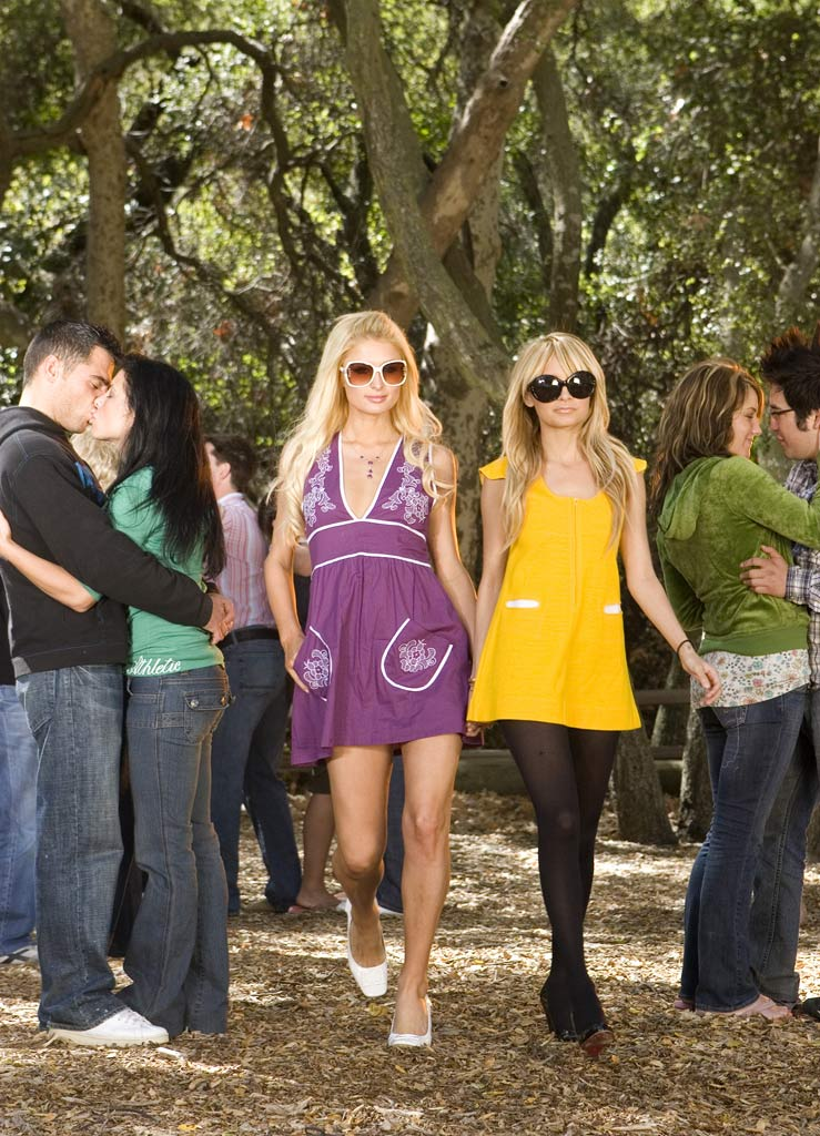 Paris Hilton and Nicole Richie in The Simple Life: Goes to Camp ranked No. 4. Of course, this has NOTHING to do with the circus-like atmosphere surrounding Ms. Hilton's stint in jail.