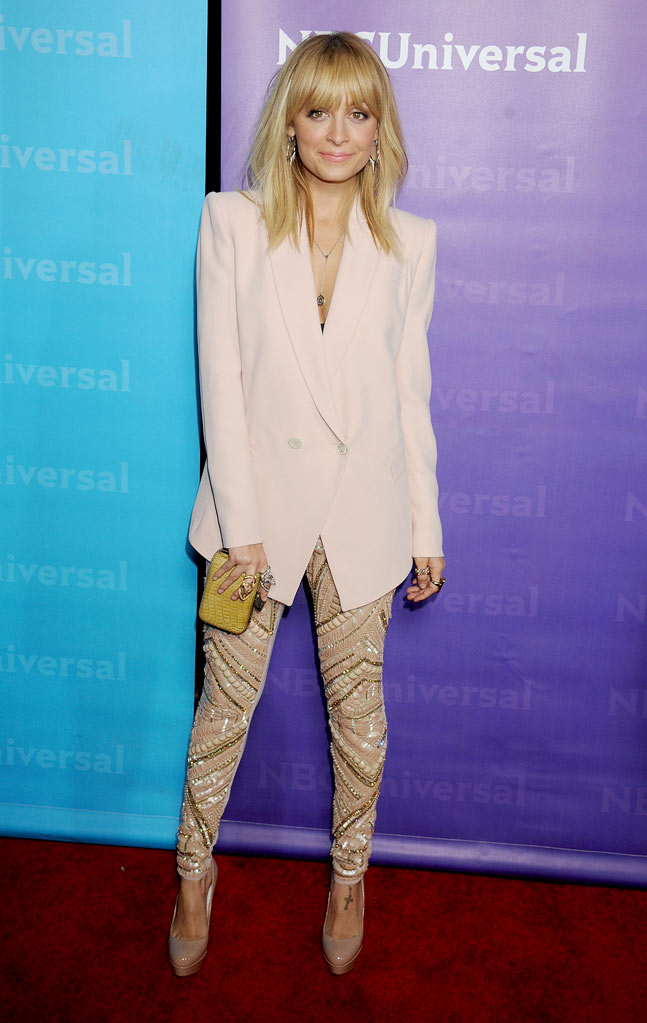 "Nicole Richie (""Fashion Star"") attends the 2012 NBC Universal Winter TCA All-Star Party at The Athenaeum on January 6, 2012 in Pasadena, California."