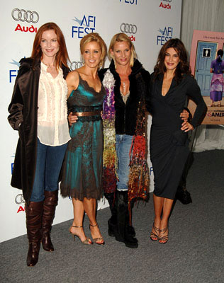 Premiere: Marcia Cross, Felicity Huffman, Nicollette Sheridan and Teri Hatcher at the LA premiere of The Weinstein Company's Transamerica - 11/6/2005