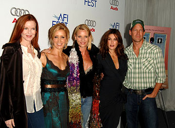 Premiere: Marcia Cross, Felicity Huffman, Nicollette Sheridan, Teri Hatcher and James Denton at the LA premiere of The Weinstein Company's Transamerica - 11/6/2005