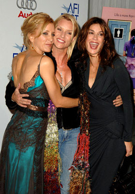 Premiere: Felicity Huffman, Nicollette Sheridan and Teri Hatcher at the LA premiere of The Weinstein Company's Transamerica - 11/6/2005