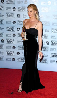"Nicollette Sheridan of ""Desperate Housewives"" Best TV Series - Comedy Golden Globe Awards - 1/16/2005"