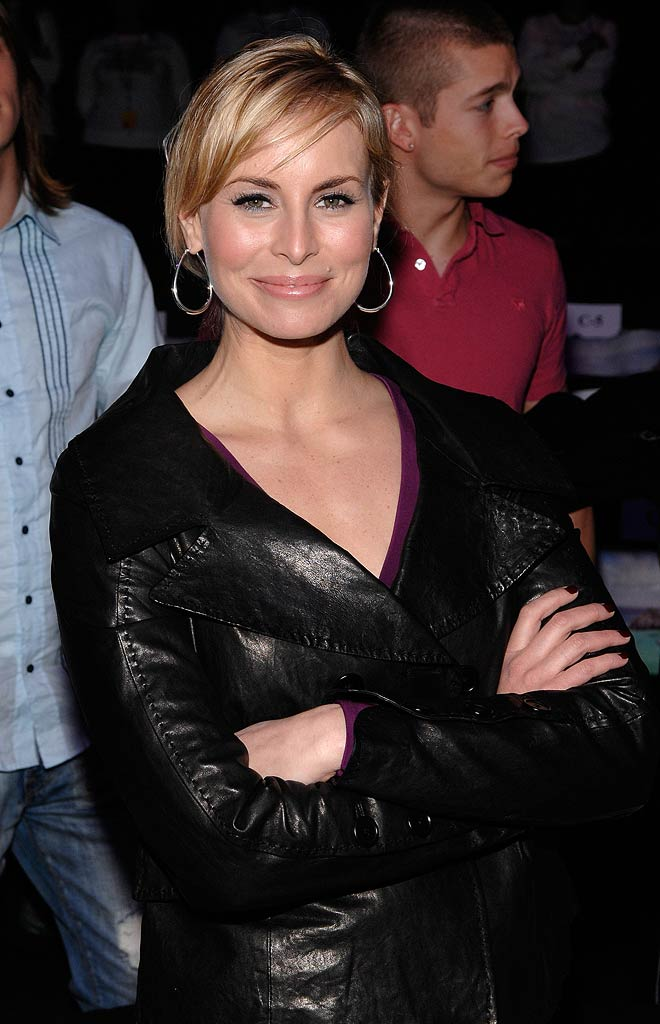 Niki Taylor attends Alexandre Herchcovitch Fall 2008 during Mercedes-Benz Fashion Week at the Tent, Bryant Park.